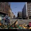 Leereinnenstadt, Cyberpunk, Leben, Cyberart