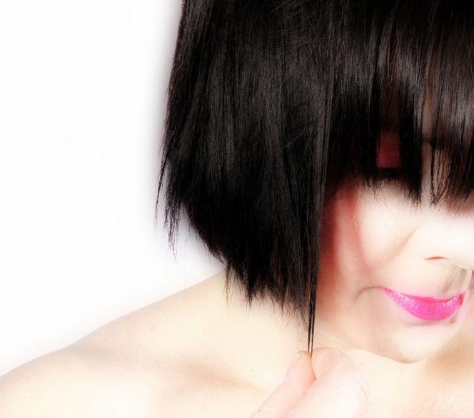Sinnlichkeit, Lippenstift, Frau, Schulter, Besinnlich, Haare