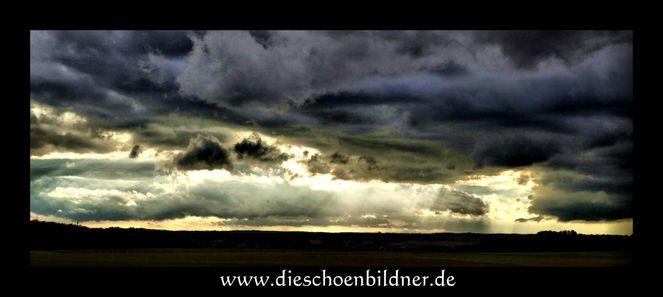 Wolken, Fotografie, Feld, Hdr, Tonemapping, Licht