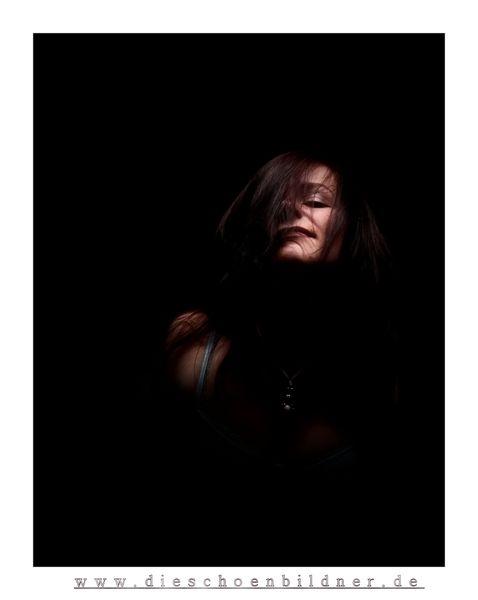 Finster, Portrait, Wild, Haare, Fotografie, Menschen