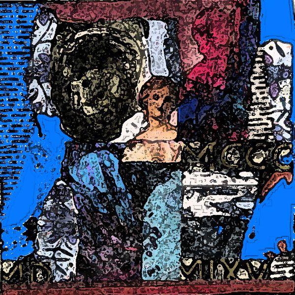 Bulgarien, Collage als vorlage, Fresko, Kontrast, Digital, Orthodoxie