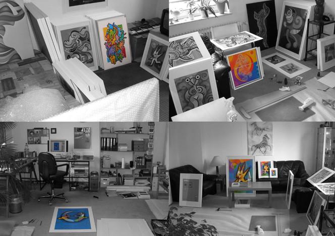 März, Ausstellung, Köln, Pinnwand,