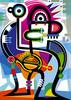 Kontradiktion, Abstrakt, Symbolik, Farben