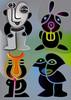Wesen, Farben, Schwarz, Staunen