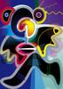 Farben, Vektorkunst, Figur, Flüchtig