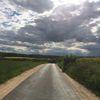 Straße, Wiese, Himmel, Fotografie