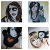 Myspace, Vernetzung, Selbstportrait, Schaf