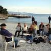 Malreise, Ligurien, Zeichnen im urlaub, Zeichnen
