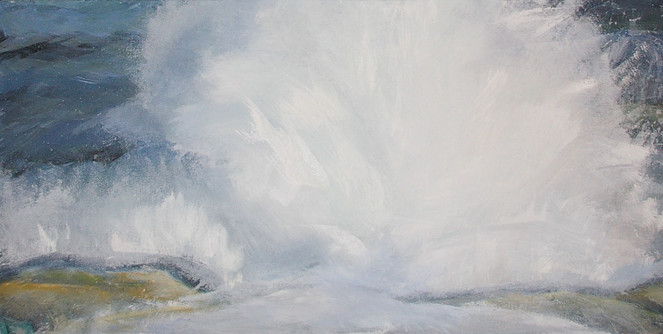 Meer, Malerei, Explosion