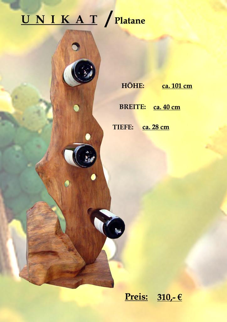 Weinregal Flaschenregal Unikat Holz Holz Interieur Skulptur Dekoration Von Ida Lovende Bei Kunstnet