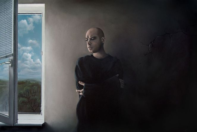 Selbstportrait, Malerei, Portrait