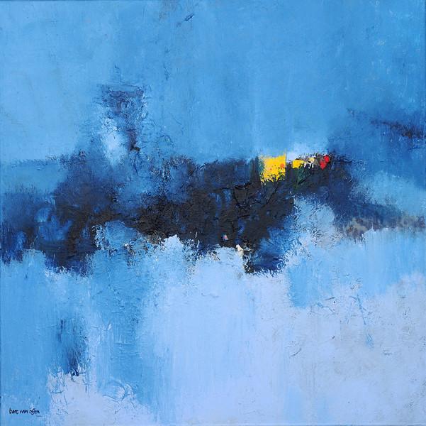 Acrylmalerei, Abstrakt, Bart, Oijen, Malerei,