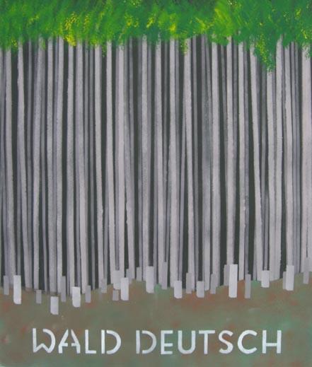 Landschaft, Malerei, Wald, Deutsch
