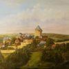 Heimat, Sommer, Gemälde, Wupper