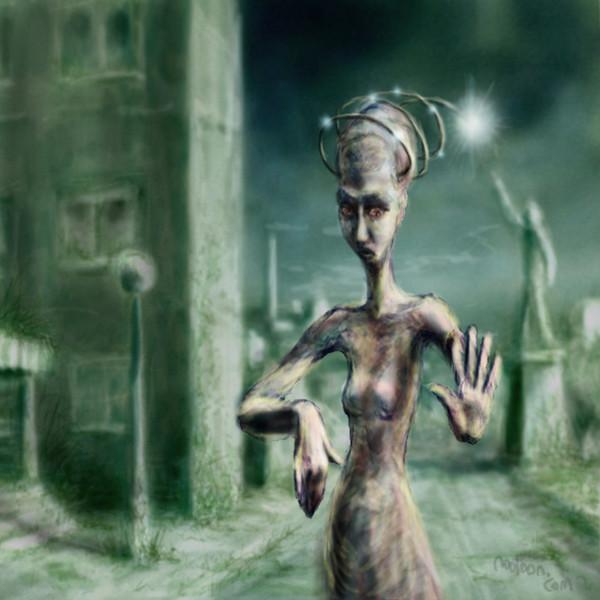 Illustration, Tschernobyl, Atom, Digitale kunst, Surreal,