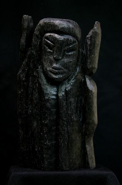Cherub, Altes testament, Moorholz, Skulptur, Plastik, Surreal
