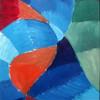 Malerei, Abstrakt, Rückseite