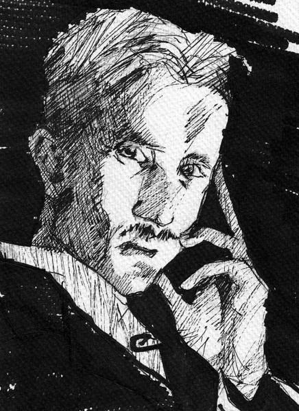 Tesla, Zeichnungen, Interpretation,