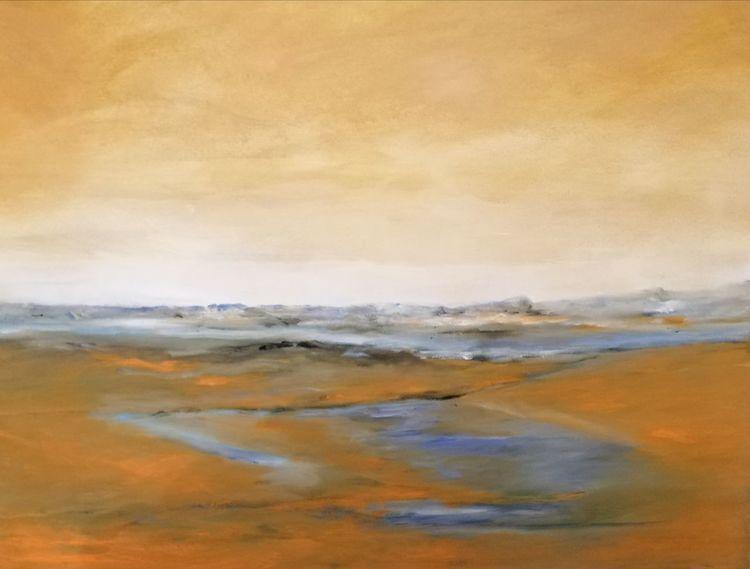 Elbe, Malerei