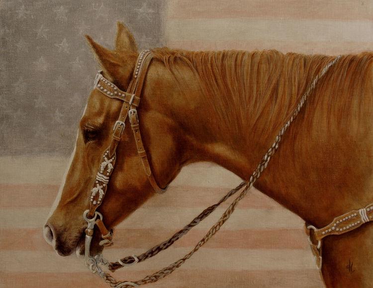 Andalusier, Realismus, Pferde, Malerei, Araber, Traum