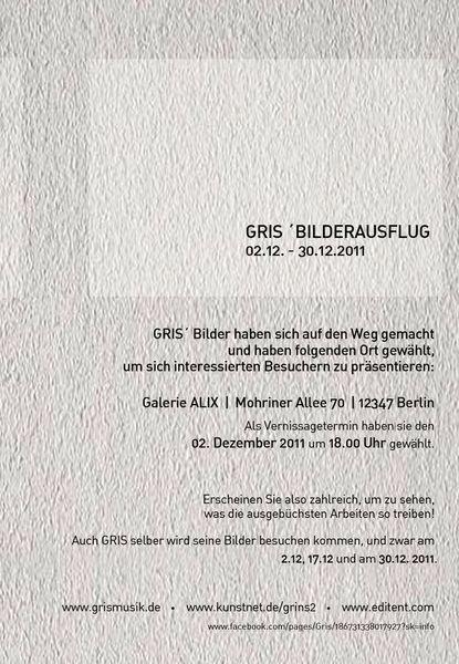 2011, Alix, Ausstellung, Berlin, Mohriner, Vernissage