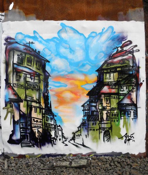 Graffiti, Lack, Berlin, Stadt, Aerosol, Sprühen