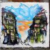 Graffiti, Lack, Berlin, Stadt