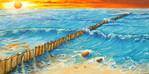 Landschaft, Acrylmalerei, Malerei