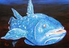 Fisch, Acrylmalerei, Malerei, Tiere