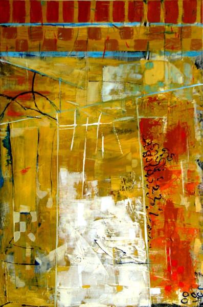 Malerei, Abstrakt, Arabian