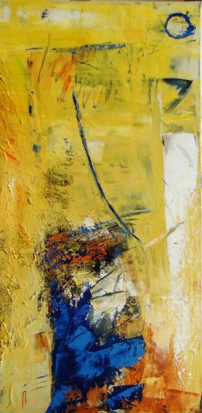 Malerei, Abstrakt, Licht, Wasser
