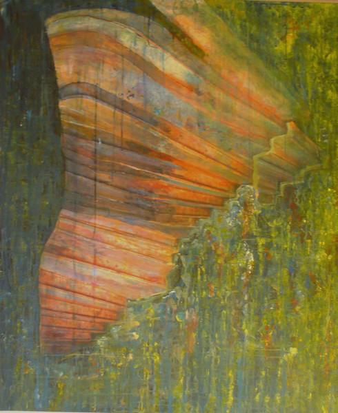 Acrylmalerei, Malerei, Collage, Abstrakt,