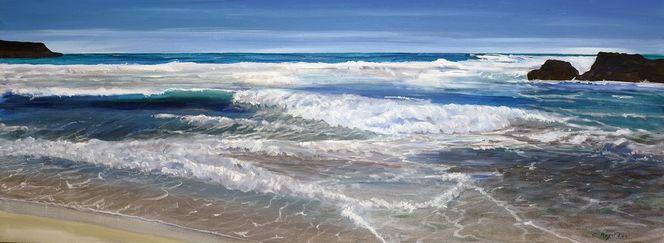 Brandung, Welle, Wasser, Sonne, Natur, Meer