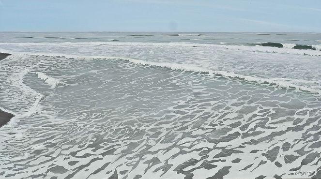 Portugal, Meer, Sonne, Urlaub, Welle, Malerei