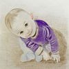 Baby, Kind, Malerei,