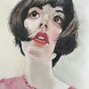 Lousa, Portrait, Mädchen, Malerei