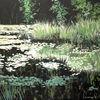 Romantik, Natur grün, Wasser, Idylle