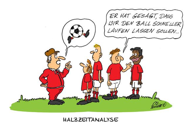 Cartoon, Schweiz, Erdball, Fußball, Zeichnungen, Wm