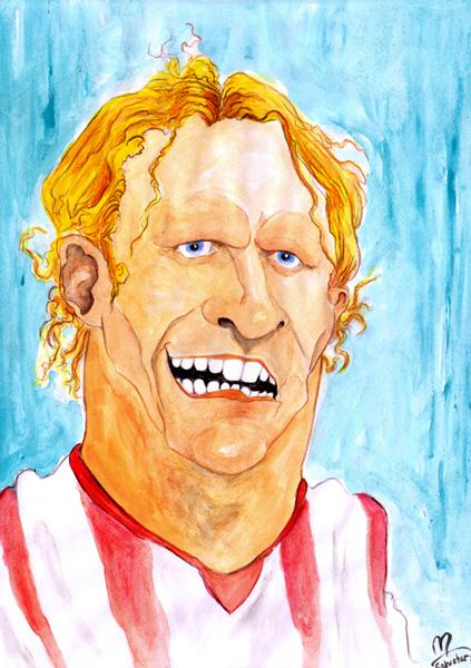 Fußball, Wm, Forlan, Uruguay, Zeichnungen,