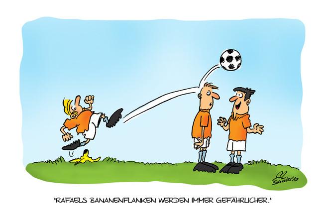 Karikatur, Niederlande, Fußball, Wm cartoon holland, Holland, Zeichnungen