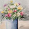 Rose, Blumen, Blüte, Vase