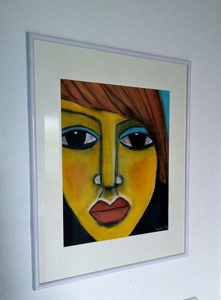 Schwarz, Pastellmalerei, Menschen, Zeichnungen