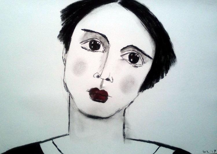 Augen, Zeichnungen,