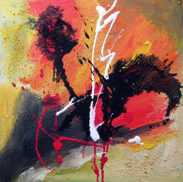 Malerei, Abstrakt, Wetter