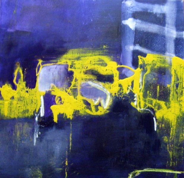 Malerei, Stille, Nacht