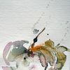 Schicht, Nass, Pflanzen, Aquarellmalerei