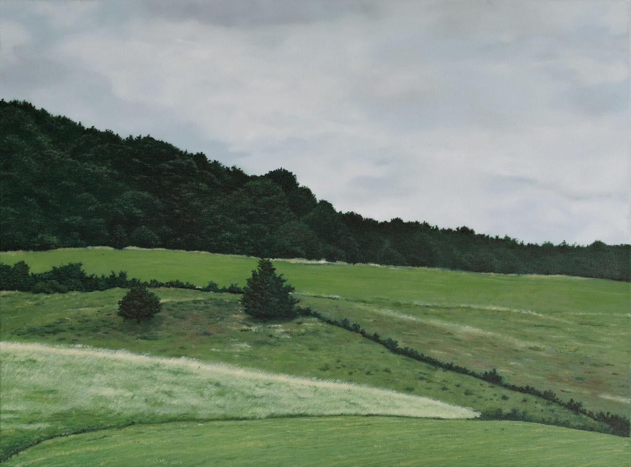 Landschaftsmalerei realismus  Bild: Ölmalerei, Realismus, Landschaft, Malerei von Michael Purtz ...