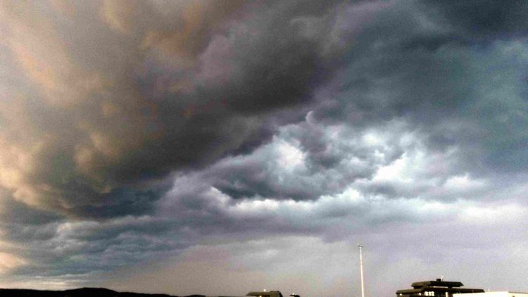 Himmel, Haus, Wolken, Fotografie