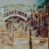 Stadt brücke, Historie, Rialto brücke, Moderne malerei