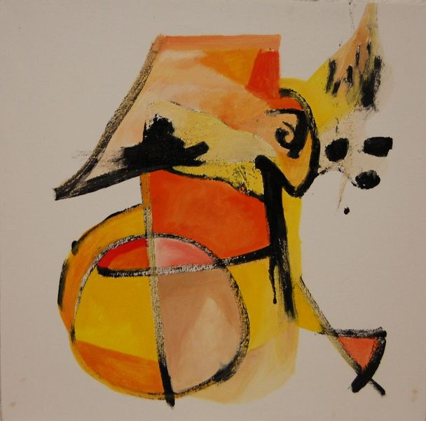 Abstrakter expressionismus, Romanze, Ölmalerei, Birotic art, Brief, Malerei